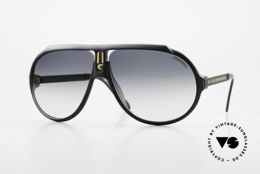 Carrera 5512 Iconic 80's Shades True Vintage Details