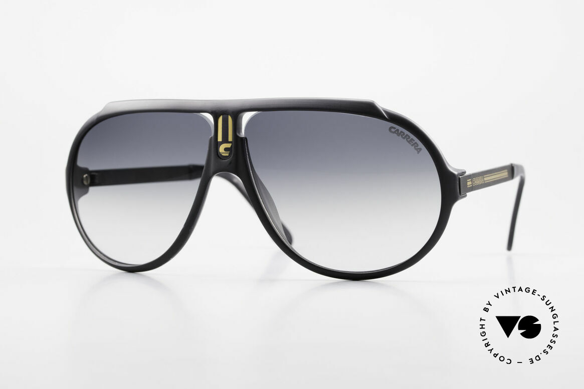 Carrera 5512 Iconic 80's Shades True Vintage, legendary 1980's vintage CARRERA designer sunglasses, Made for Men