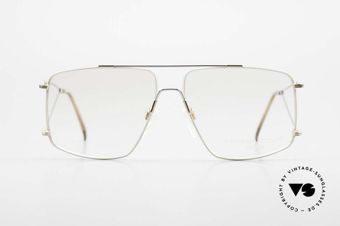 Neostyle Jet 40 Titanflex Vintage 90's Glasses, incredible comfort thanks to TITANFLEX material!, Made for Men