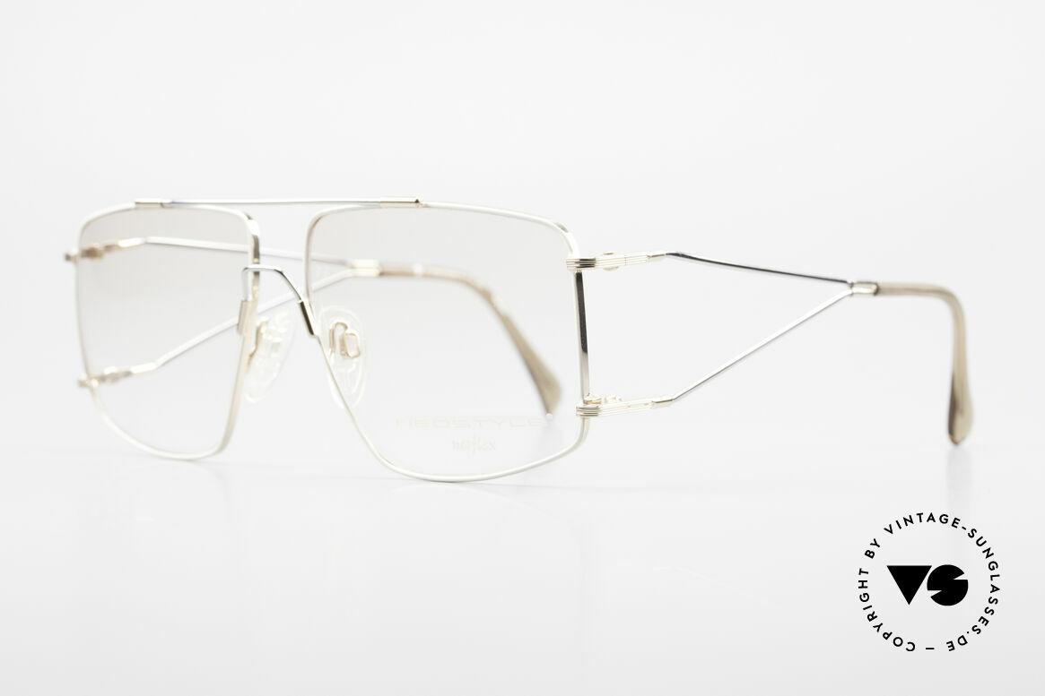 Neostyle Jet 40 Titanflex Vintage 90's Glasses, brilliant TITANFLEX frame: flexible, durable, light, Made for Men