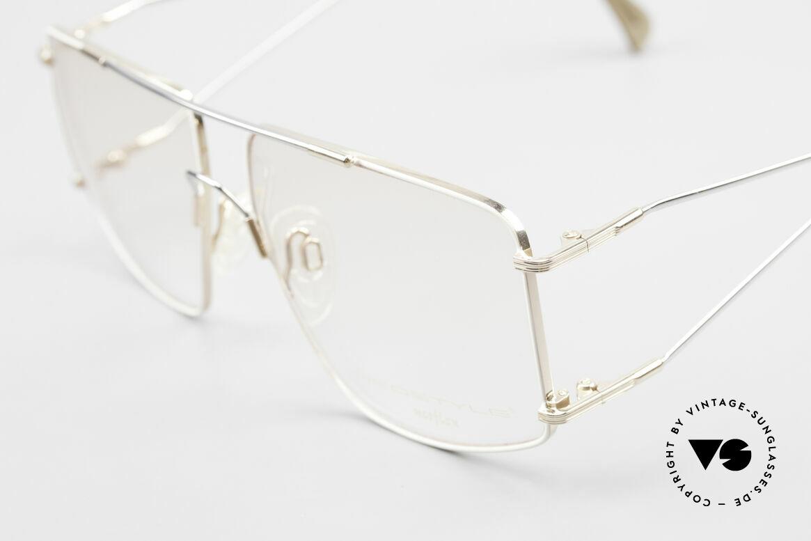Neostyle Jet 40 Titanflex Vintage 90's Glasses, after deformation, the frame returns to orig. form!, Made for Men