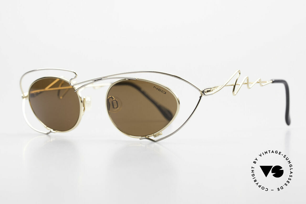 Neostyle Holiday 973 Crazy 90's Ladies Sunglasses, striking frame construction: true eye-catcher!, Made for Women