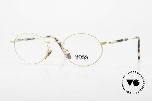 BOSS 5139 Oval Panto Eyeglass Frame Details