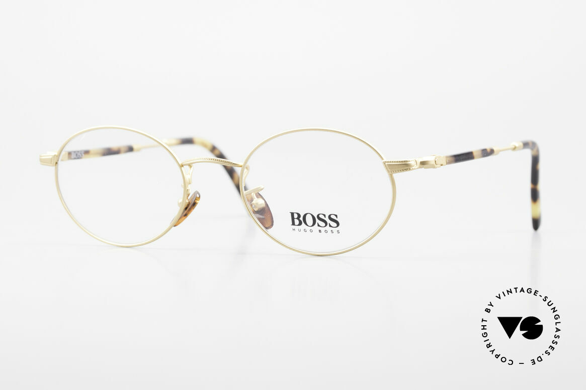 BOSS 5139 Oval Panto Eyeglass Frame, oval vintage 'panto design' eyeglasses by BOSS, Made for Men and Women