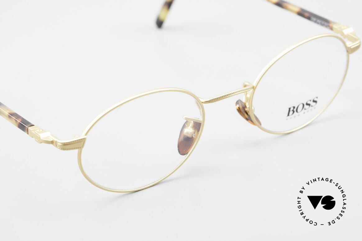 BOSS 5139 Oval Panto Eyeglass Frame, NO RETRO eyewear, but a brilliant BOSS ORIGINAL, Made for Men and Women