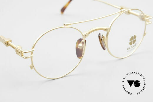 Actuell Couture 802 Round 80's Glasses Steampunk, frame can be glazed with lenses of any kind, Made for Men and Women
