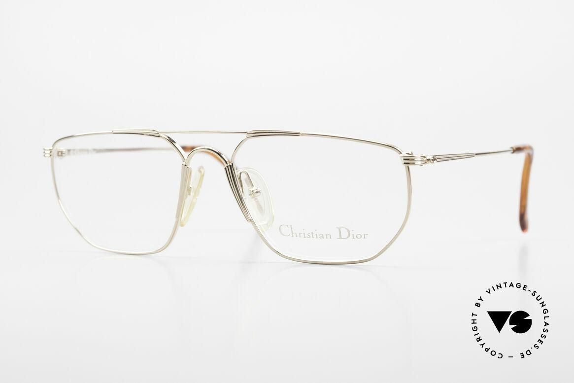 Christian Dior 2819 90's Gentlemen's Metal Frame, classic 90's gentlemen eyeglasses by Christian Dior, Made for Men