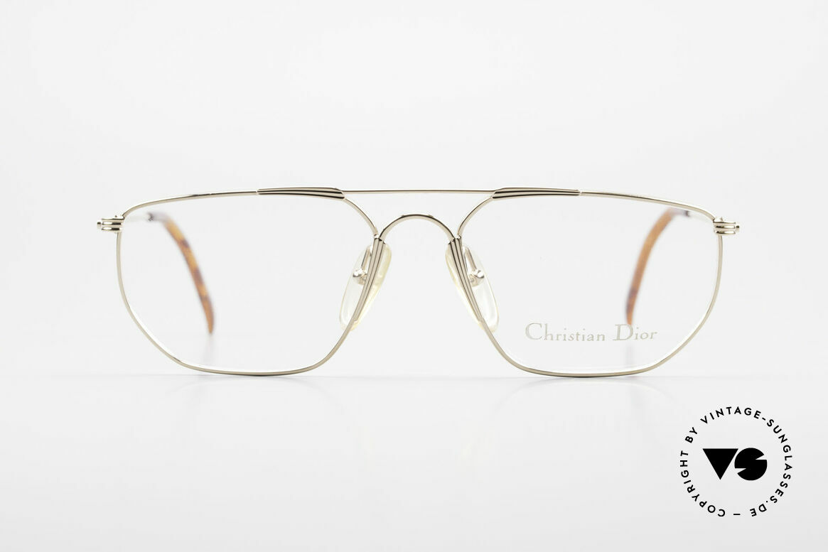 Christian Dior 2819 90's Gentlemen's Metal Frame, very noble & unbelievable quality (U must feel this!), Made for Men