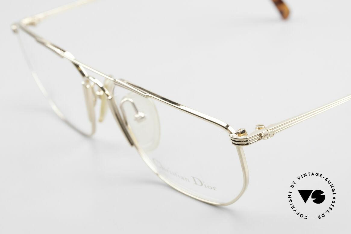 Christian Dior 2819 90's Gentlemen's Metal Frame, new old stock (like all our rare vintage Dior frames), Made for Men
