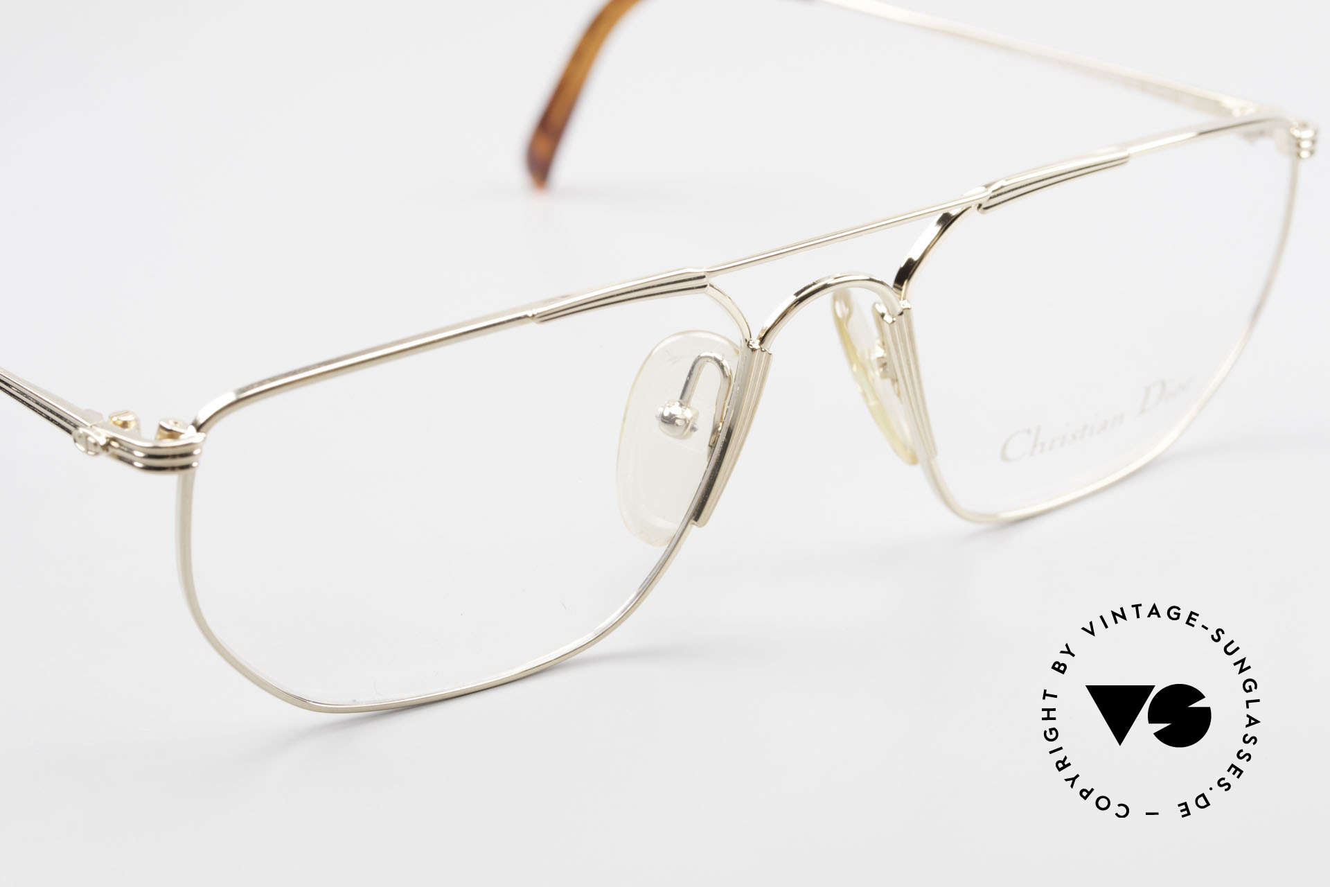 Christian Dior 2819 90's Gentlemen's Metal Frame, NO retro eyeglasses; but a unique original from 1993, Made for Men