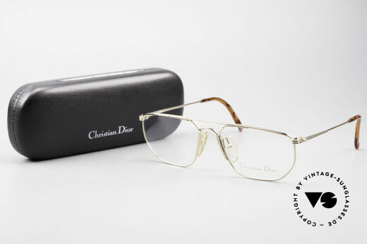 Christian Dior 2819 90's Gentlemen's Metal Frame, DEMO lenses should be replaced with optical lenses, Made for Men