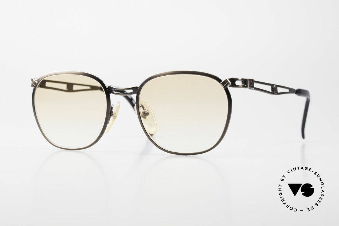 Jean Paul Gaultier 56-2177 Orange Lenses for the Night, 1990's designer sunglasses by Jean Paul Gaultier, Made for Men and Women