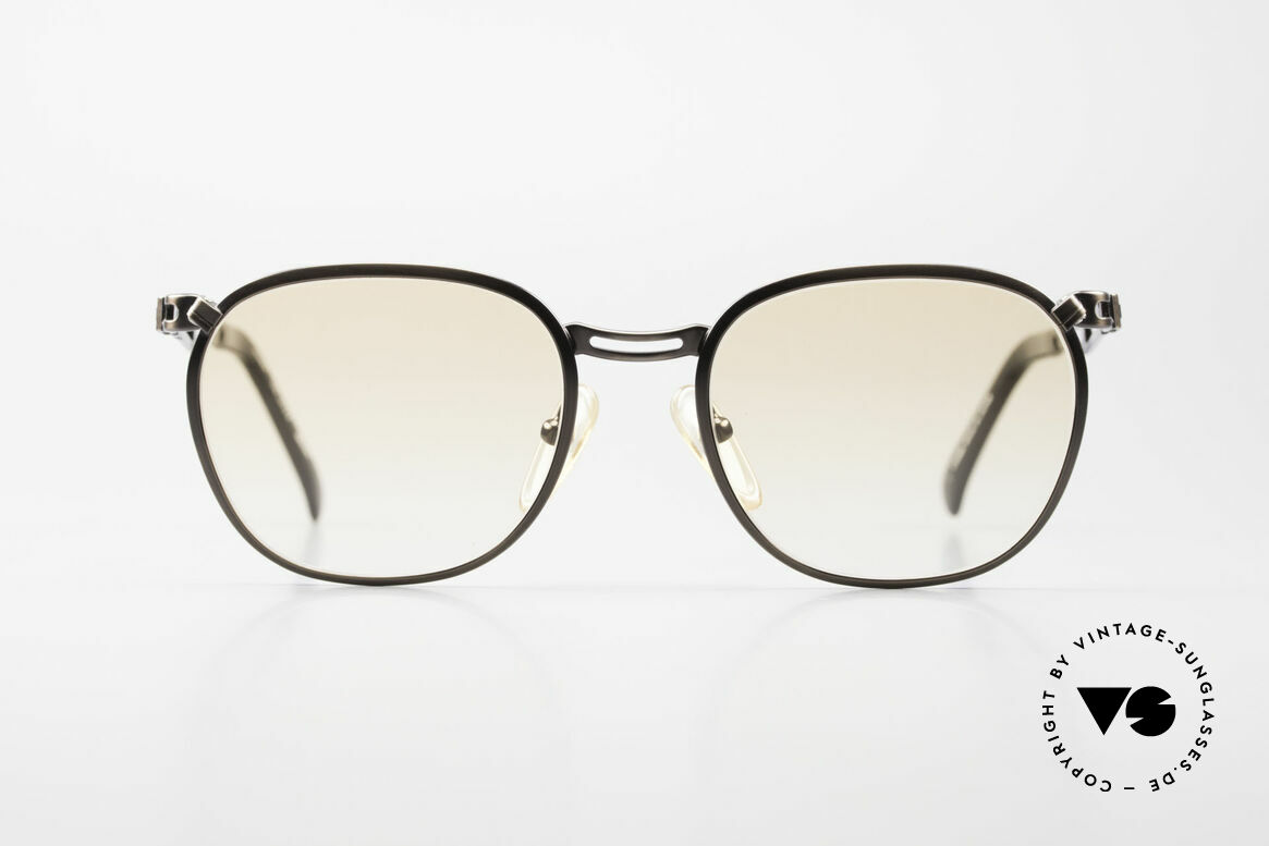 Jean Paul Gaultier 56-2177 Orange Lenses for the Night, unusual discreet design by eccentric J.P. Gaultier, Made for Men and Women