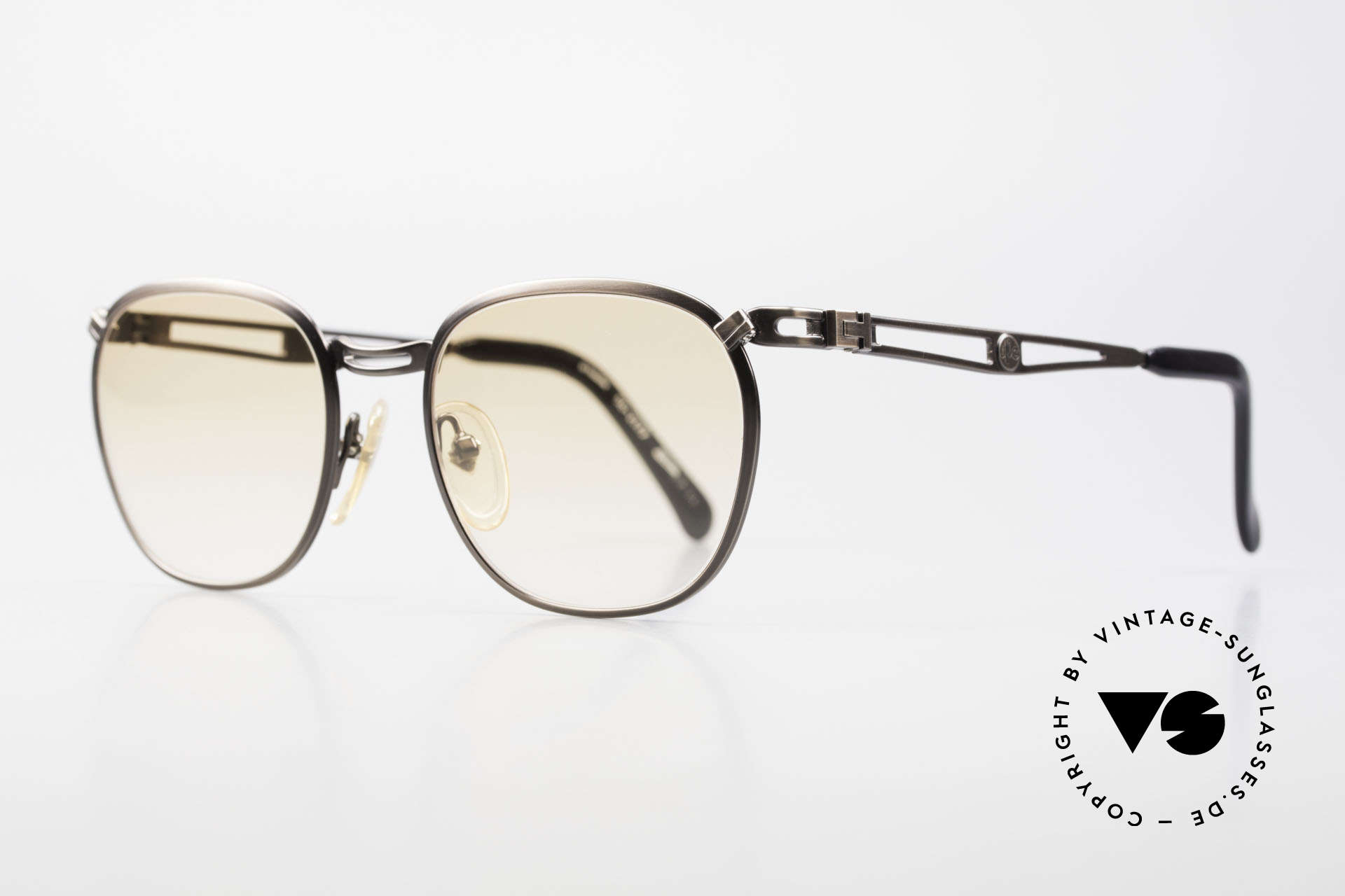 Jean Paul Gaultier 56-2177 Orange Lenses for the Night, but high-end quality (monolithic), typically JPG!, Made for Men and Women