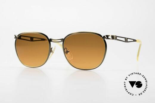 Jean Paul Gaultier 56-2177 Sunset Lenses Orange Gradient Details