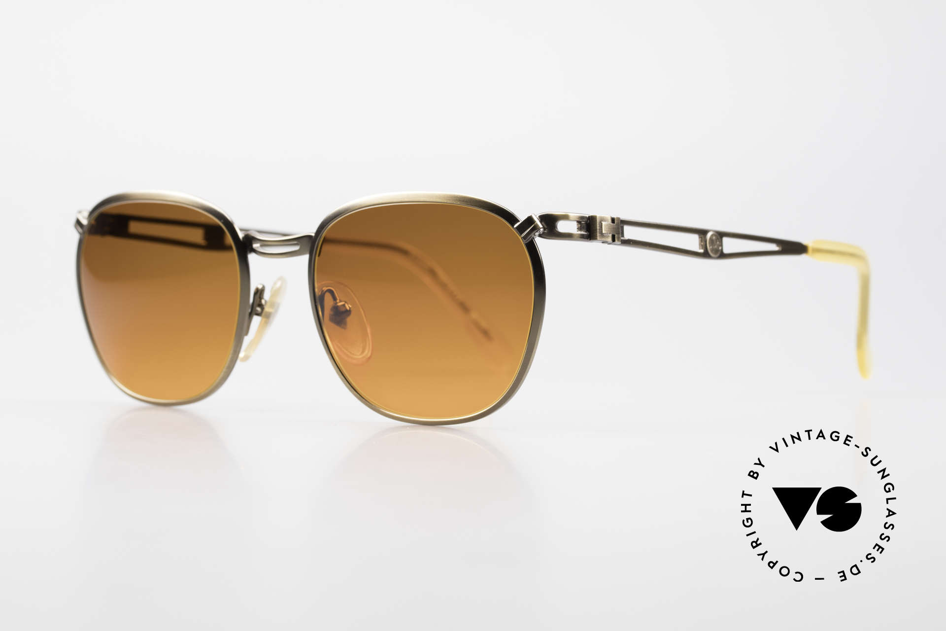 Jean Paul Gaultier 56-2177 Sunset Lenses Orange Gradient, but high-end quality (monolithic), typically JPG!, Made for Men and Women
