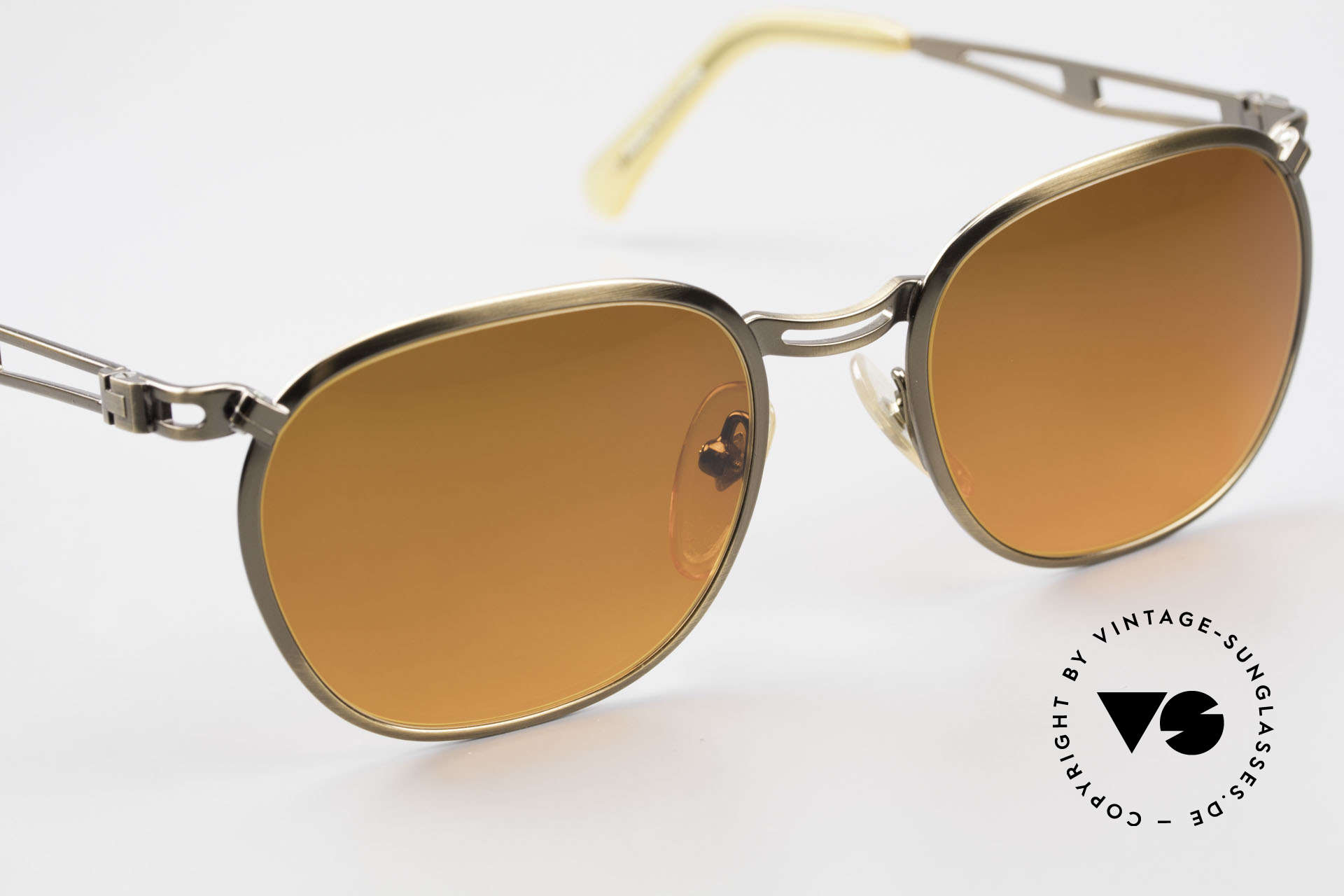 Jean Paul Gaultier 56-2177 Sunset Lenses Orange Gradient, NO RETRO fashion, but a 25 years old ORIGINAL!, Made for Men and Women