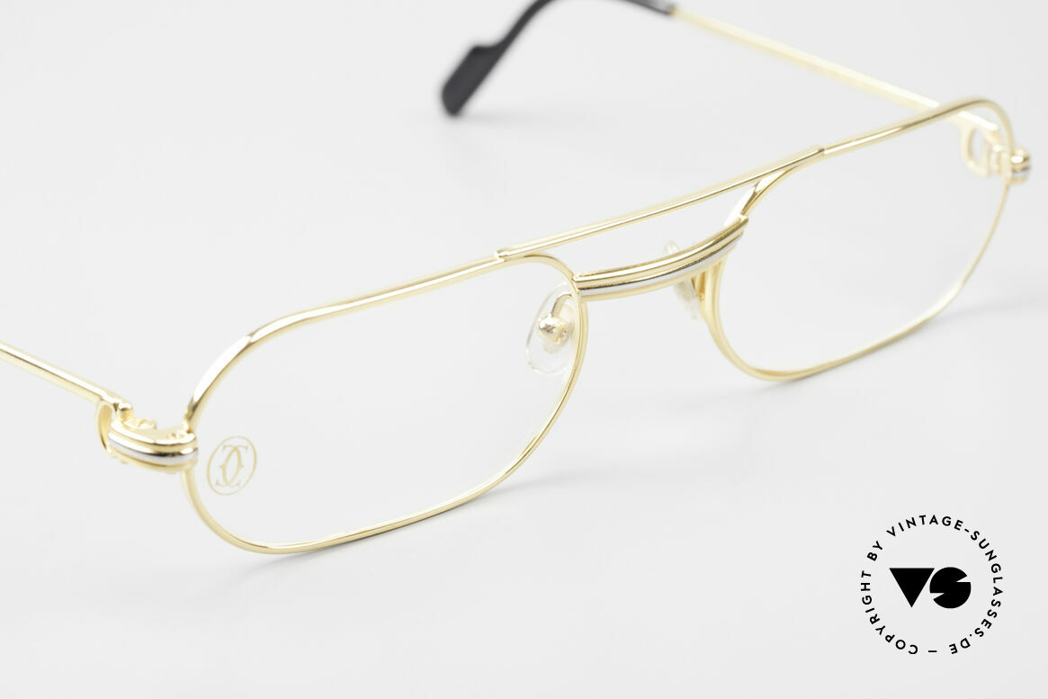 Cartier MUST LC Rose - S Limited Rosé Gold Eyeglasses, unworn with orig. packing (very rare in this condition), Made for Men and Women
