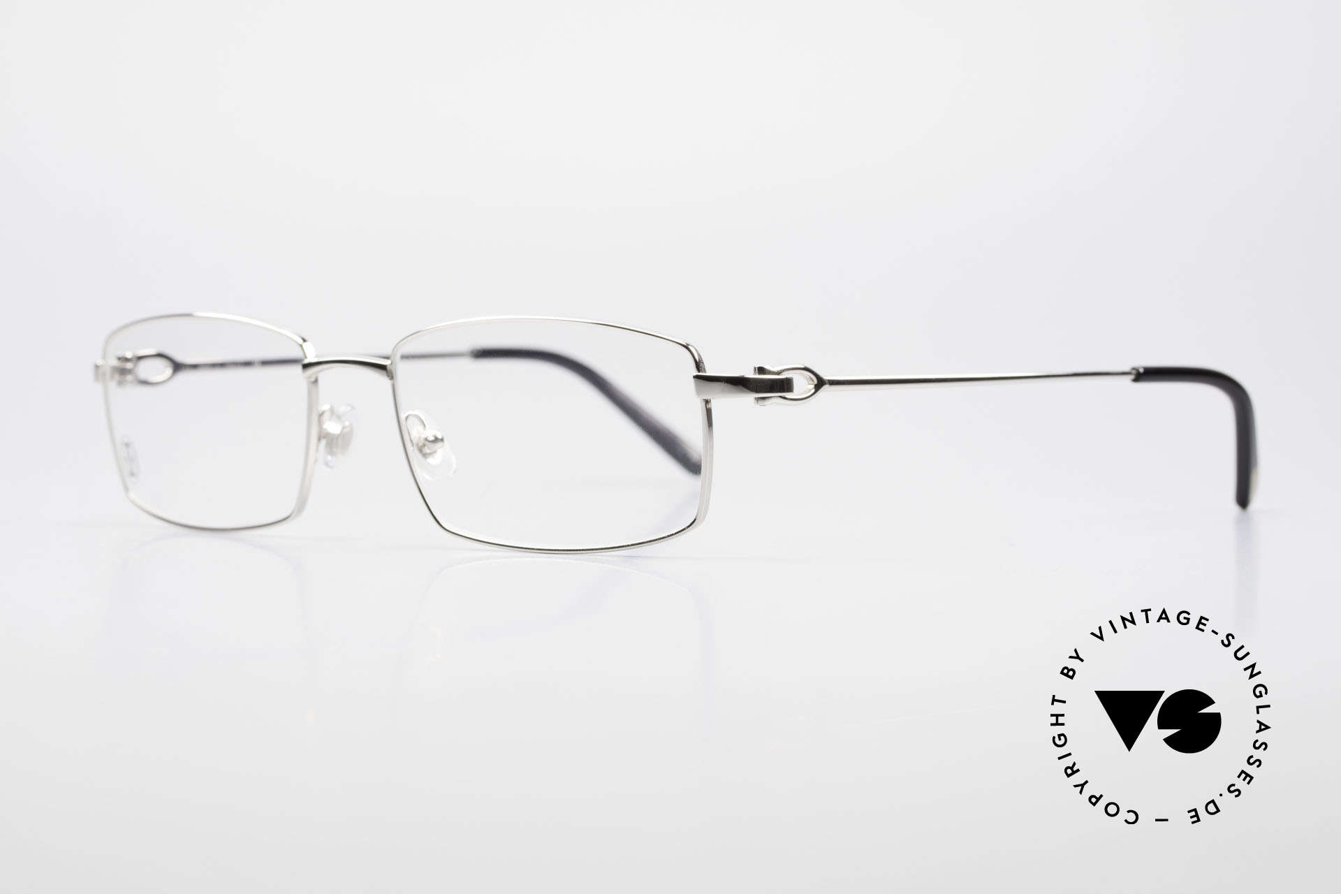 Cartier River - M Square Frame Luxury Platinum, costly 'Platine Edition' (frame with platinum finish), Made for Men