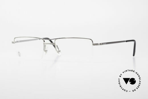 Cartier Semi T-Double Square Men's Titanium Glasses Details
