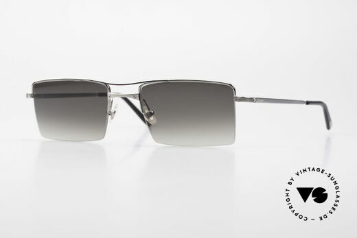 Cartier Semi T-Double Square Men's Titanium Shades Details