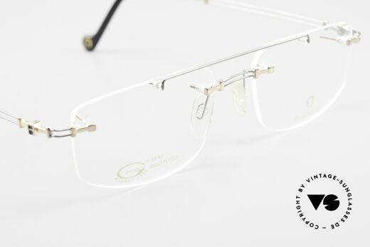 Aigner EA499 Rimless Vintage Glasses Men, NO RETRO eyeglass-frame; but genuine vintage commodity, Made for Men