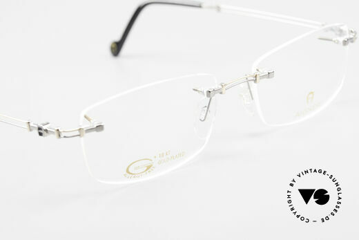Aigner EA498 Rimless 90's Glasses Unisex, NO RETRO eyeglass-frame; but genuine vintage commodity, Made for Men and Women