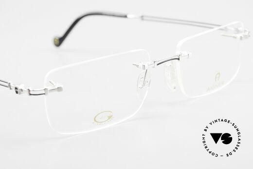 Aigner EA496 Rimless 90's Vintage Glasses, NO RETRO eyeglass-frame; but genuine vintage commodity, Made for Men