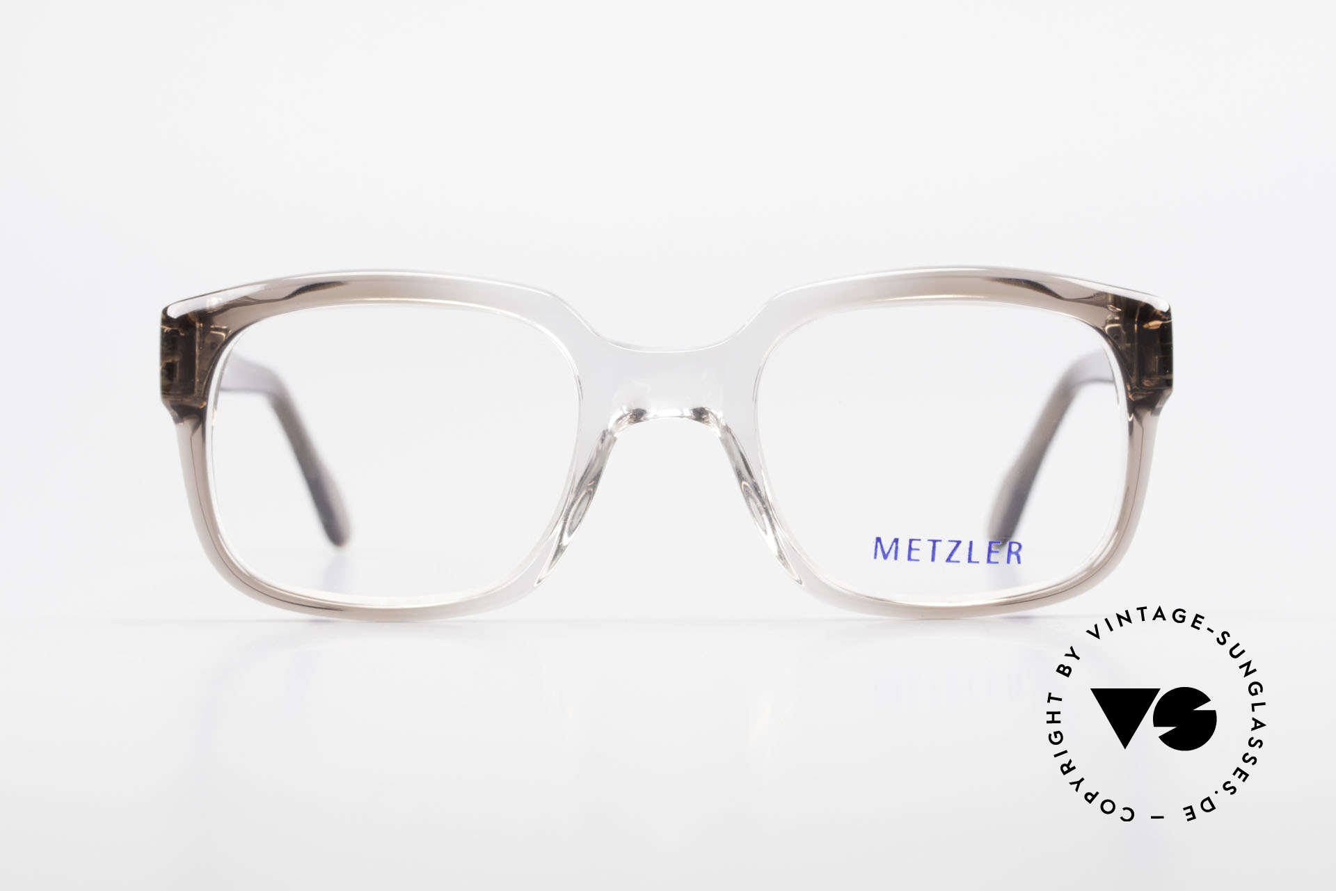 Metzler 7665 Small 80's Old School Eyeglasses, genuine old original from the late 80's / early 90s, Made for Men