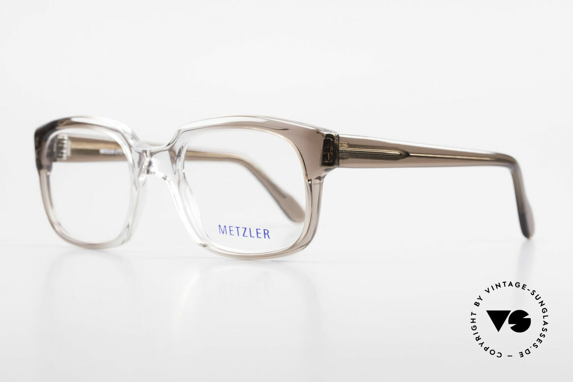Metzler 7665 Small 80's Old School Eyeglasses, called as 'old school' glasses or 'nerd specs' today, Made for Men