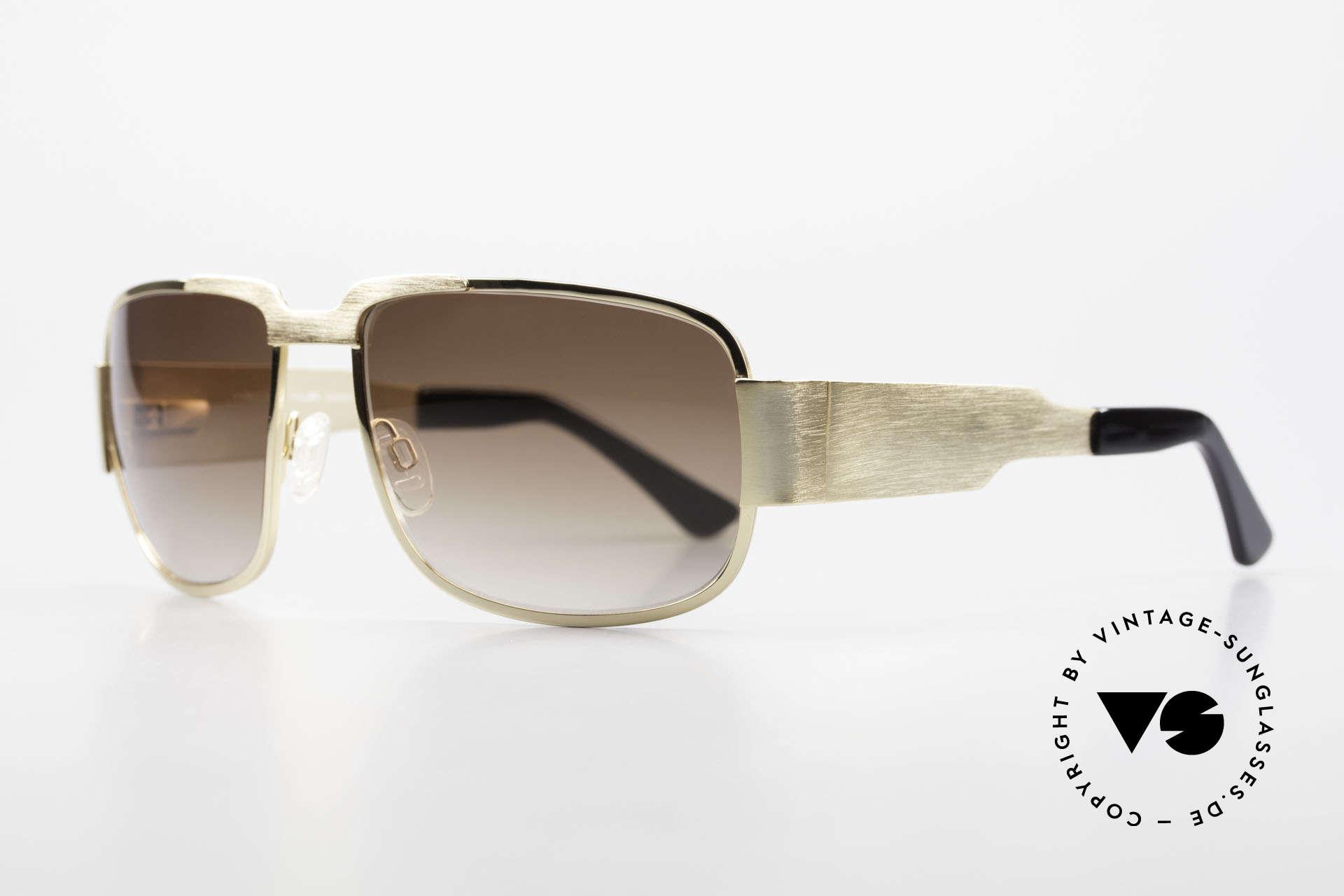 Neostyle Nautic 2 Brad Pitt Tarantino Sunglasses, Brad Pitt wears the shades on the plane from Rome to LA, Made for Men