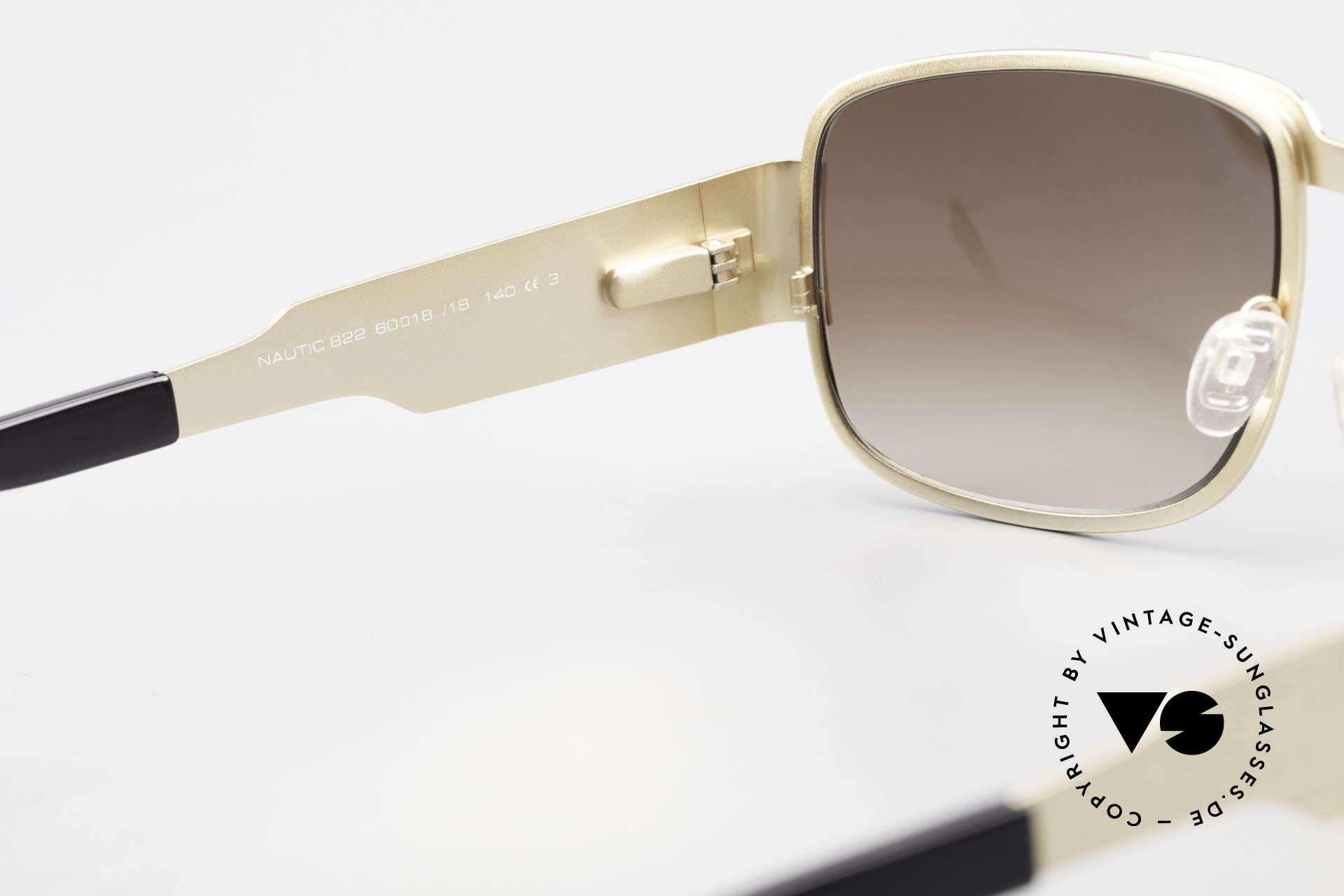 Neostyle Nautic 2 Brad Pitt Tarantino Sunglasses, Size: extra large, Made for Men