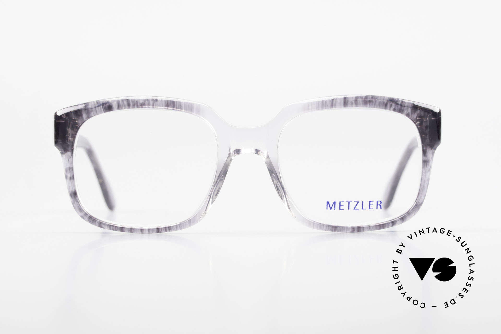 Metzler 7665 Medium 90's Old School Eyeglasses, genuine old original from the late 80's / early 90s, Made for Men