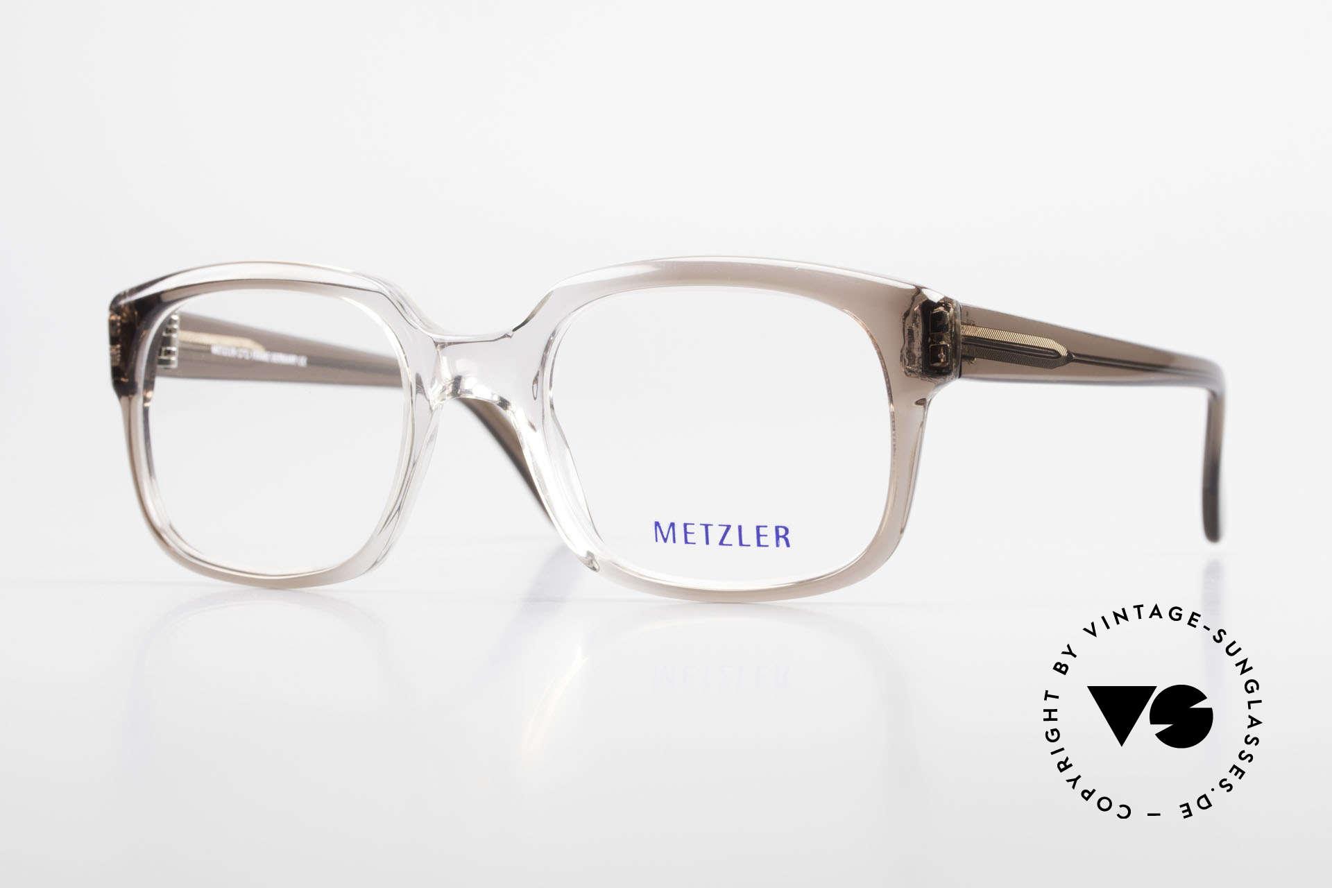 Metzler 7665 Medium Old School Eyeglasses 80's, Metzler vintage eyeglasses, 7665, size 54/22, 140, Made for Men