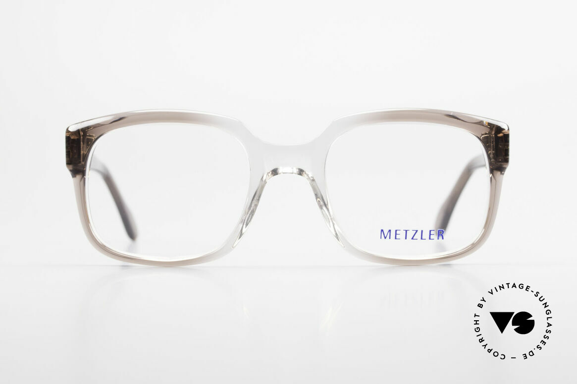 Metzler 7665 Medium Old School Eyeglasses 80's, genuine old original from the late 80's / early 90s, Made for Men