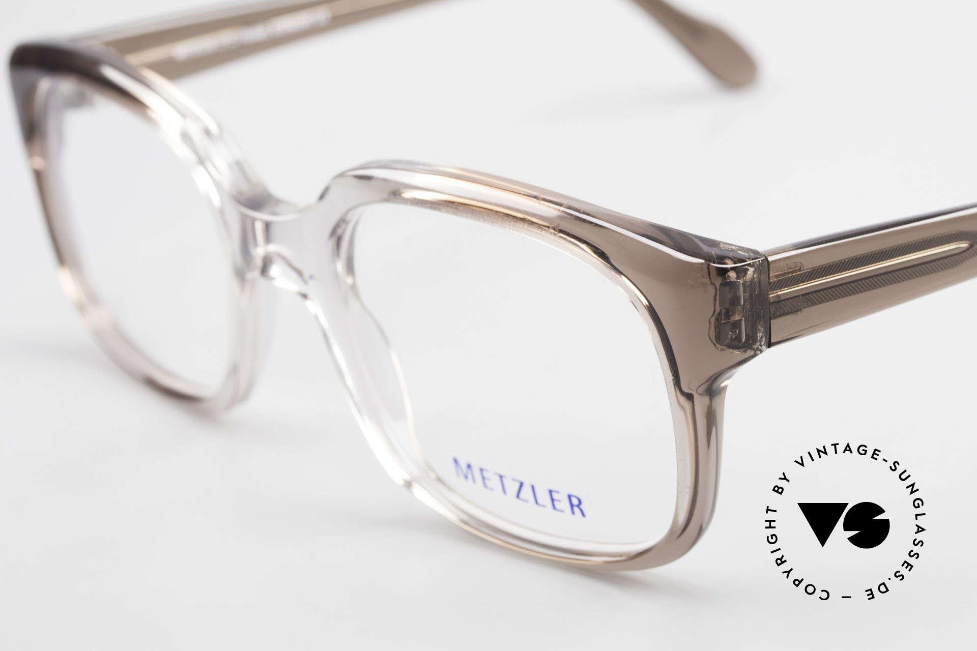 Metzler 7665 Medium Old School Eyeglasses 80's, unworn (like all our rare vintage eyeglass-frames), Made for Men