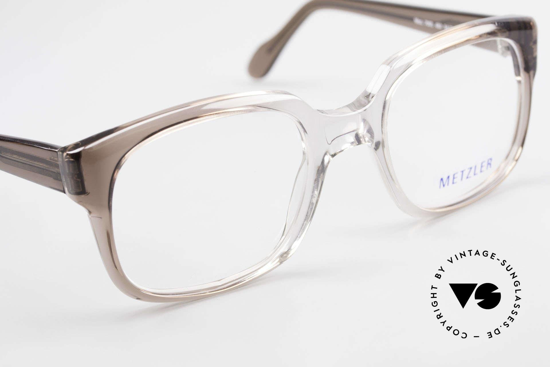 Metzler 7665 Medium Old School Eyeglasses 80's, NO RETRO; but an old 'Made in Germany' original, Made for Men