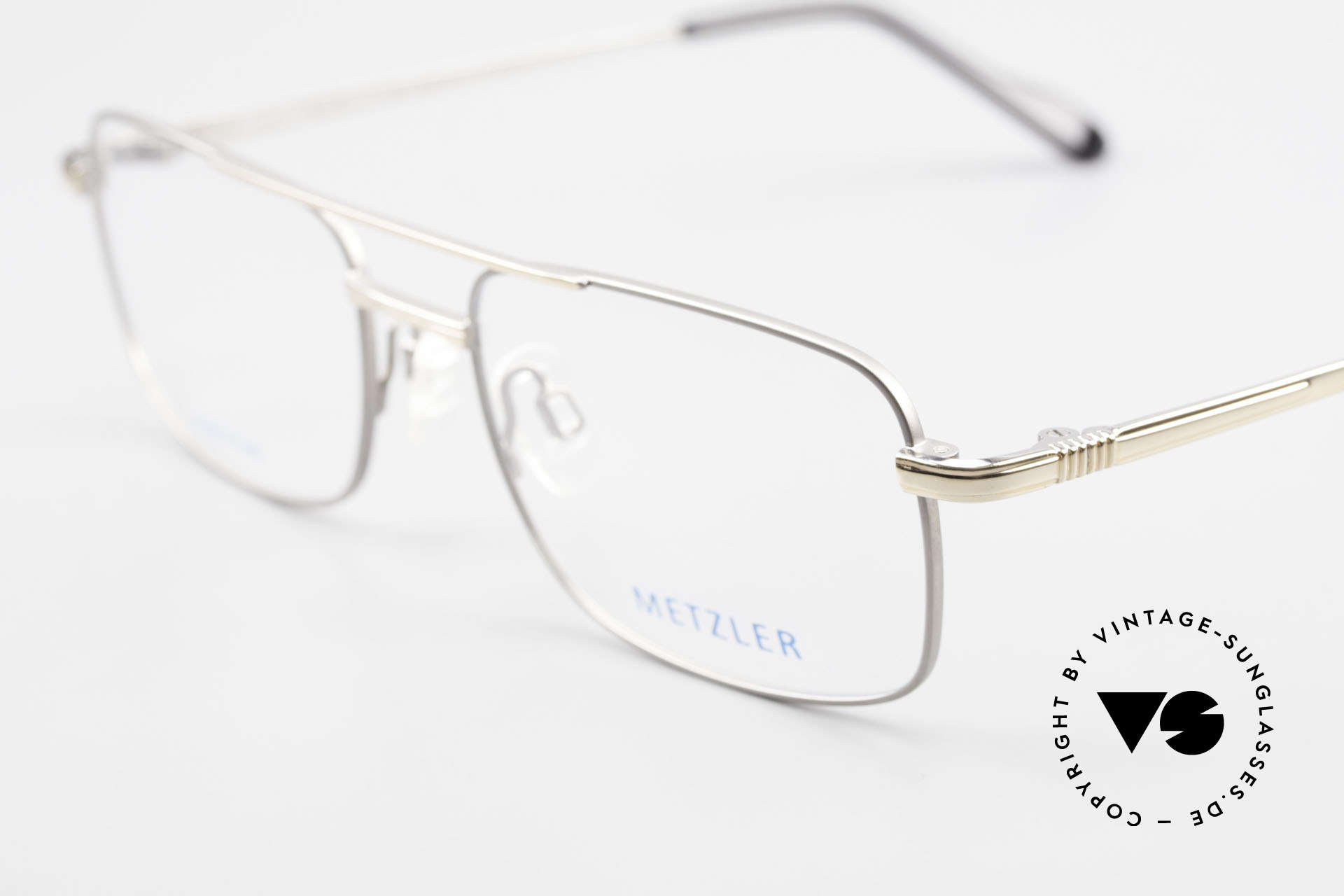 Metzler 1680 90's Titan Eyeglasses For Men, never worn (like all our rare vintage 90s eyeglasses), Made for Men