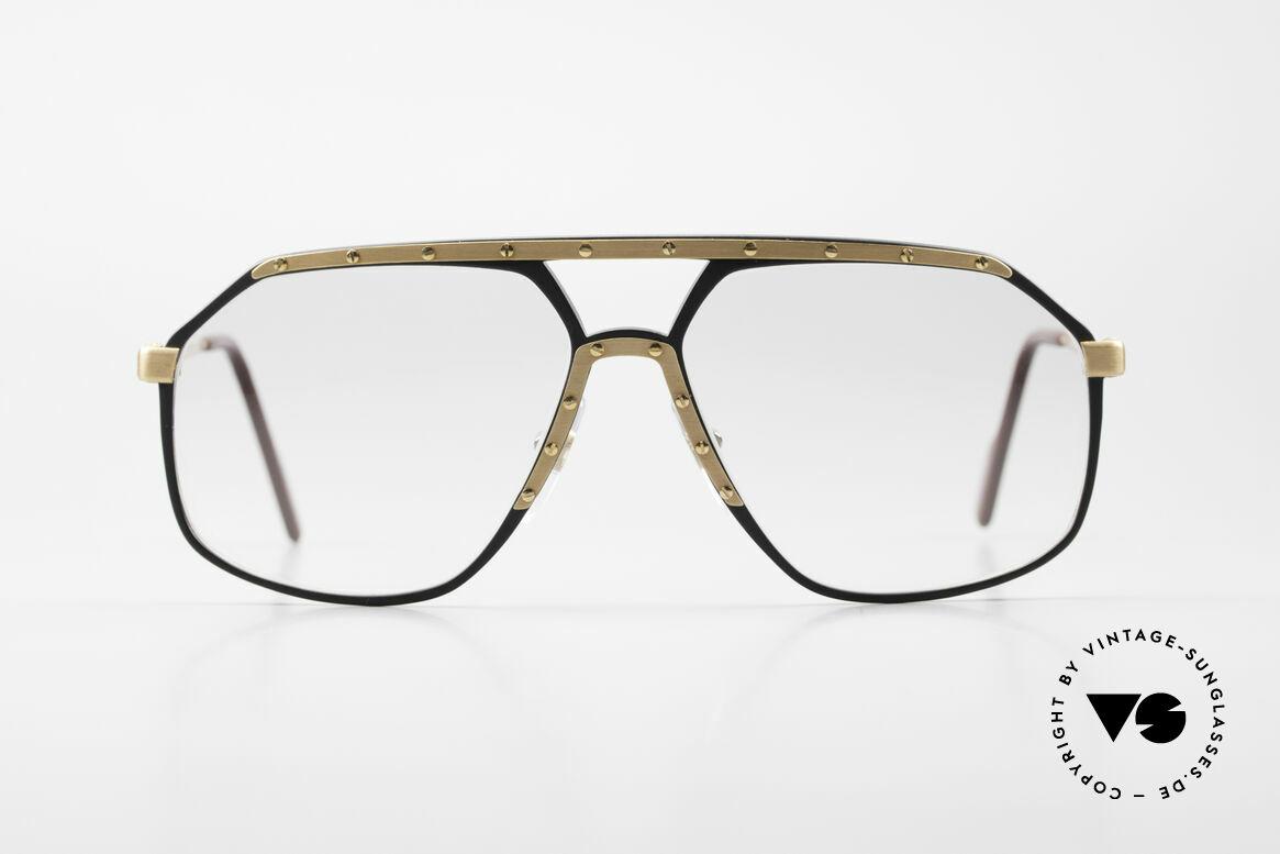 Alpina M6 80's Glasses Light Tinted Lens, a precious old 80's original in medium size 60-14, Made for Men