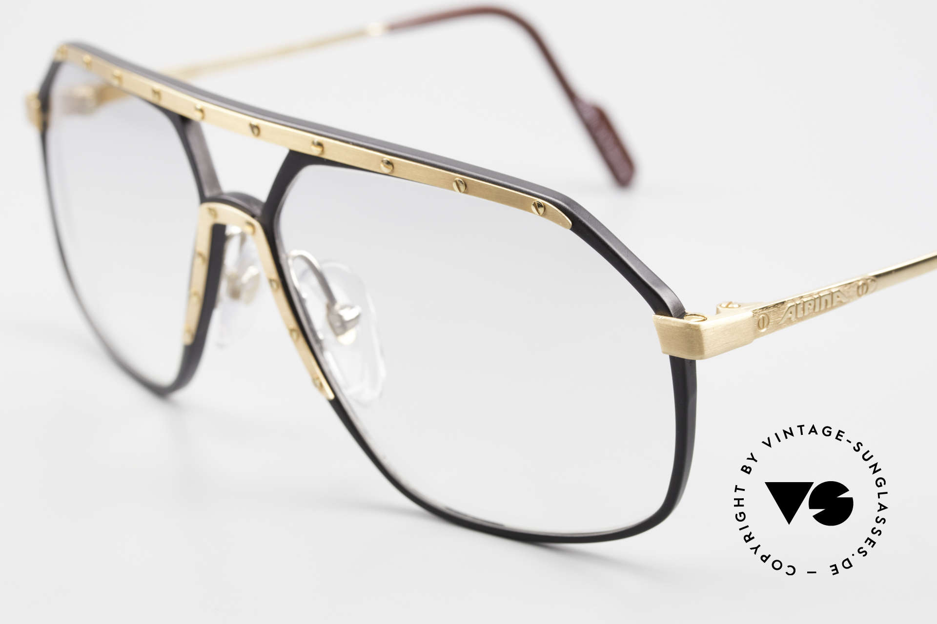 Alpina M6 80's Glasses Light Tinted Lens, the Alpina M6's were made between 1987 and 1991, Made for Men