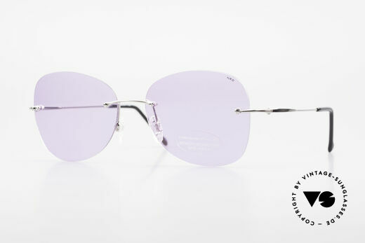 Neostyle Holiday 2051 Rimless XXL Sunglasses Ladies Details