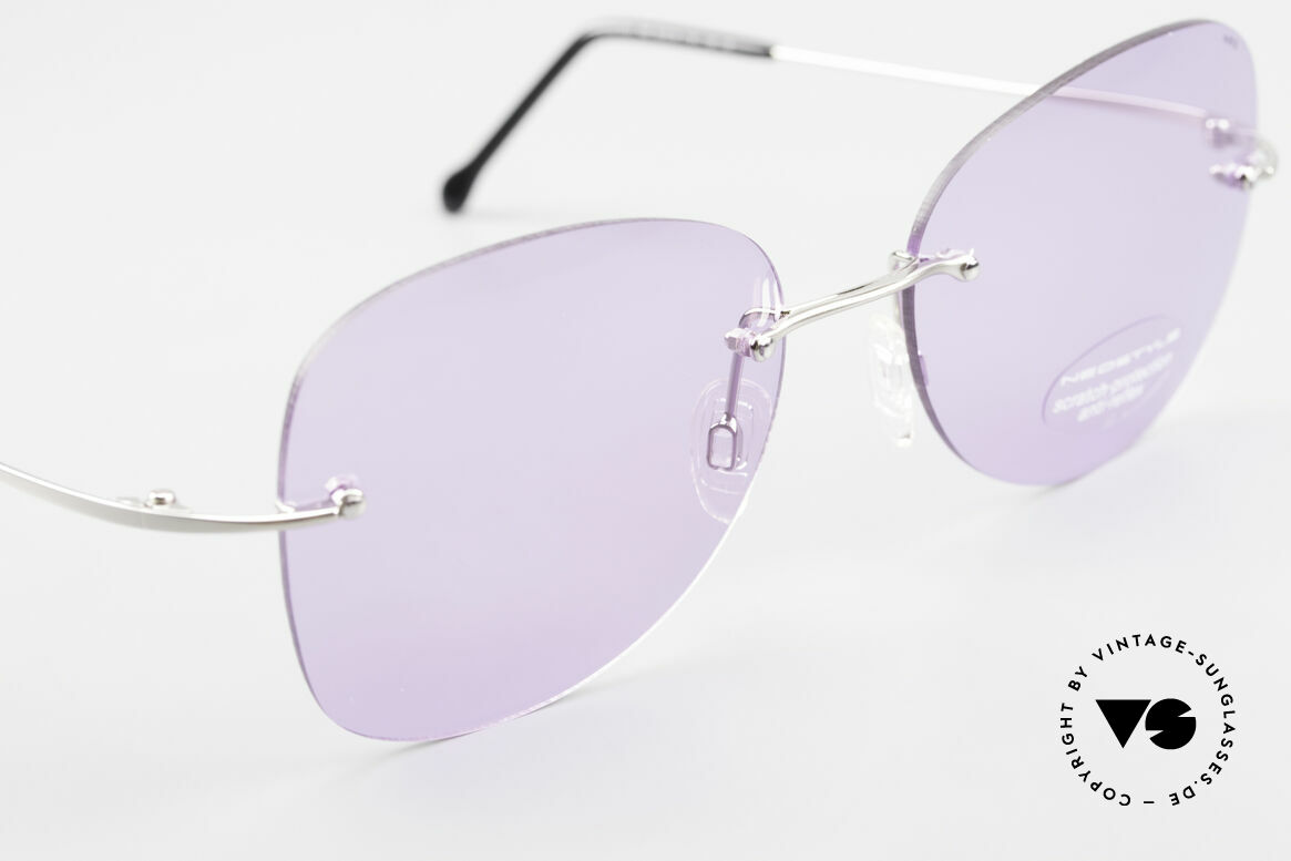 Neostyle Holiday 2051 Rimless XXL Sunglasses Ladies, unworn (like all our vintage NEOSTYLE shades), Made for Women