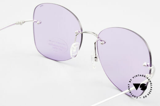 Neostyle Holiday 2051 Rimless XXL Sunglasses Ladies, NO RETRO sunglasses, but a 30 years old RARITY, Made for Women