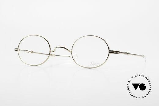 Lunor I 10 Telescopic Lunor Glasses Oval Slide Temple Details