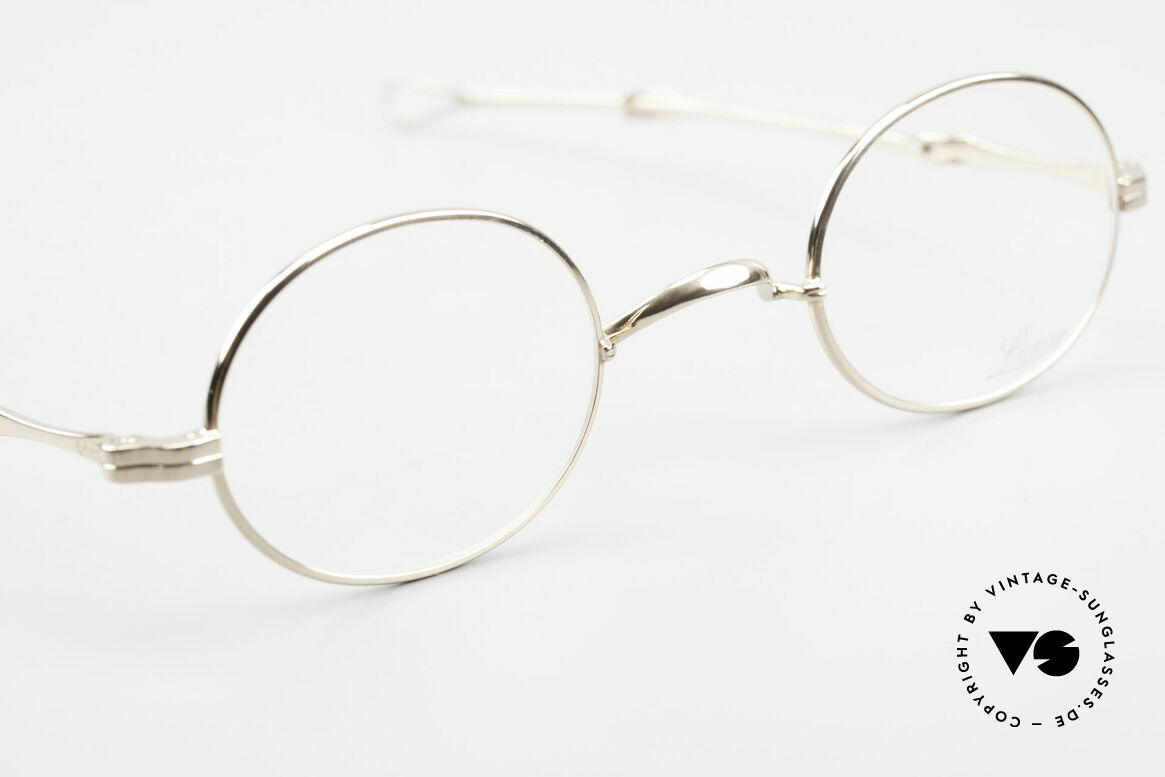 Lunor I 10 Telescopic Lunor Glasses Oval Slide Temple, unworn RARITY (for all lovers of quality) from app. 1999, Made for Men and Women