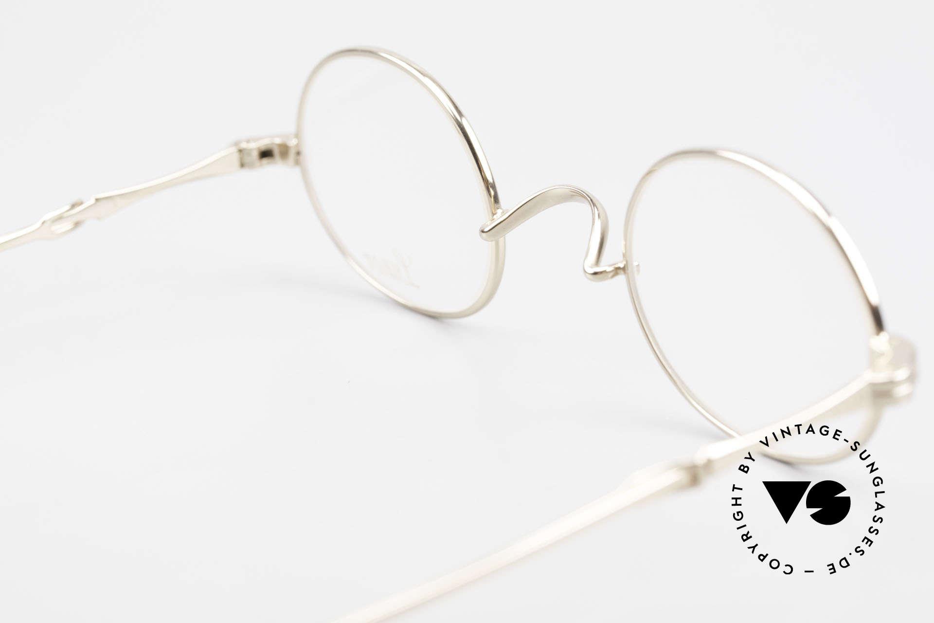 Lunor I 10 Telescopic Lunor Glasses Oval Slide Temple, Size: small, Made for Men and Women