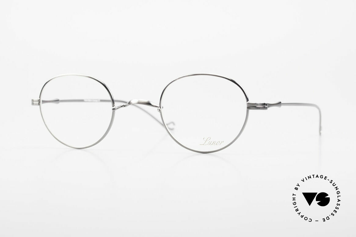 "Lunor II 22 Lunor Glasses Special Edition, vintage Lunor eyeglasses of the old ""LUNOR II"" series, Made for Men and Women"