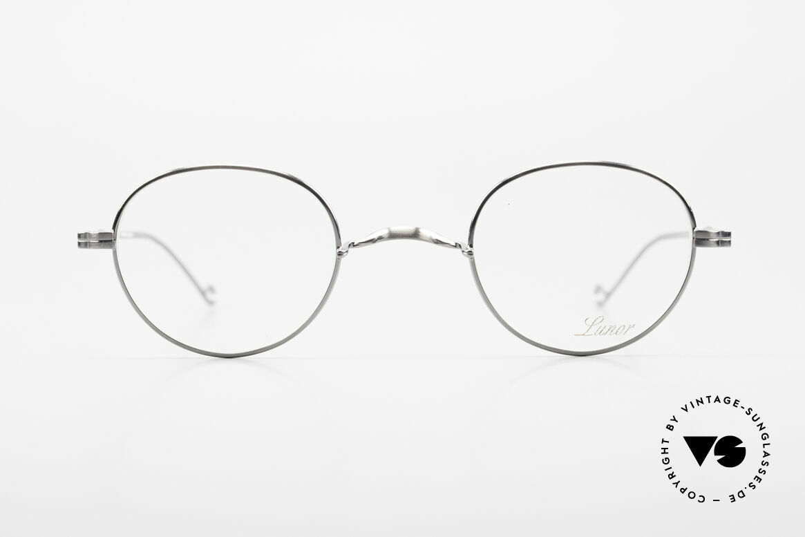 Lunor II 22 Lunor Glasses Special Edition, full rim metal frame coated with a protection lacquer, Made for Men and Women
