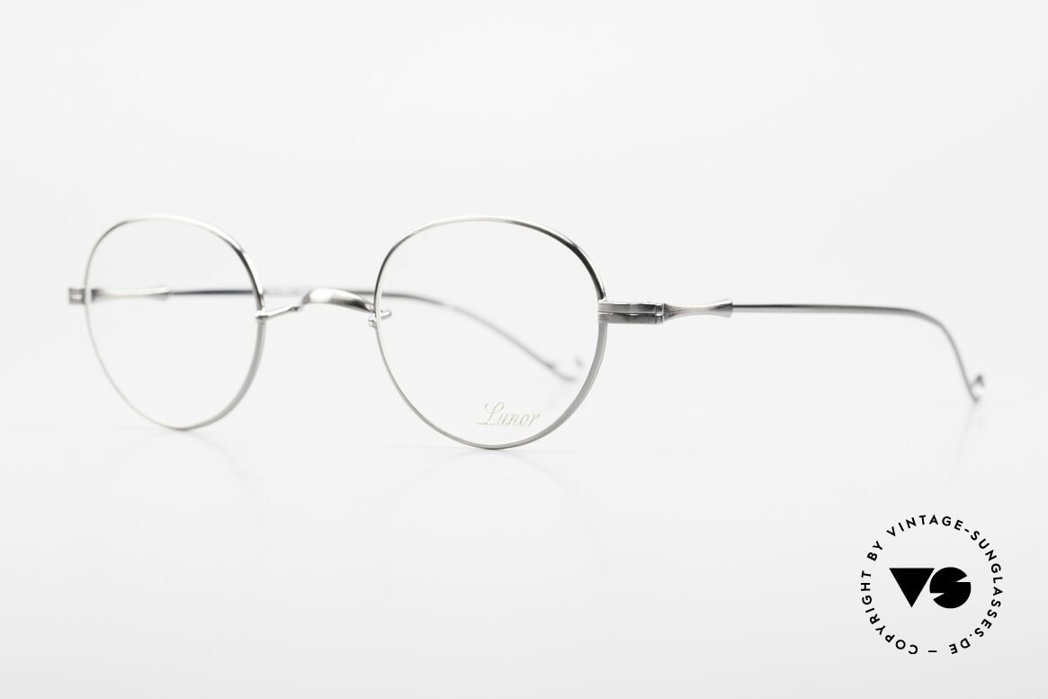 Lunor II 22 Lunor Glasses Special Edition, plain design with a W-shaped bridge, Special Edition!, Made for Men and Women