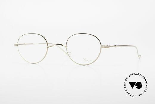 Lunor II 22 Lunor Eyeglasses Gold Plated Details